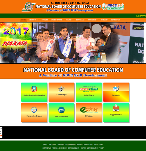 education centre website